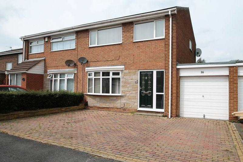 3 Bedrooms Semi Detached House for sale in Horsley Way, Billingham