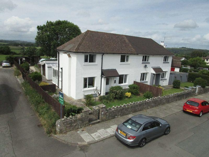 3 Bedrooms Semi Detached House for sale in 1 Church Terrace, St Mary Church, Nr. Cowbridge, CF71 7LU