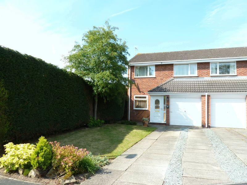 3 Bedrooms Semi Detached House for sale in Rectory Close, Wistaston