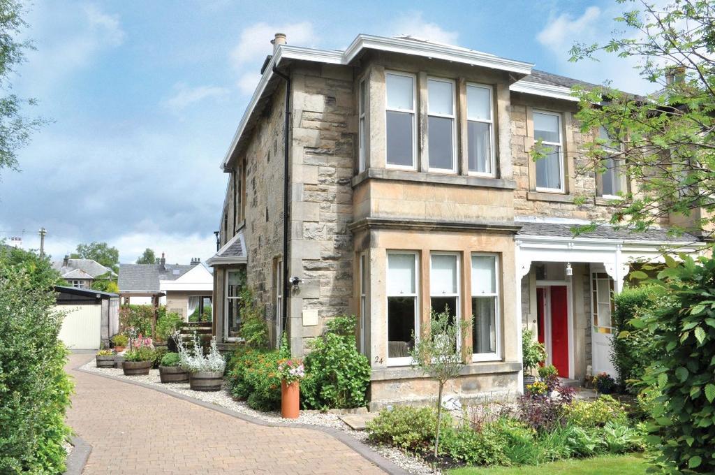 5 Bedrooms Semi Detached House for sale in Glenburn Road, Bearsden , East Dunbartonshire , G61 4PT