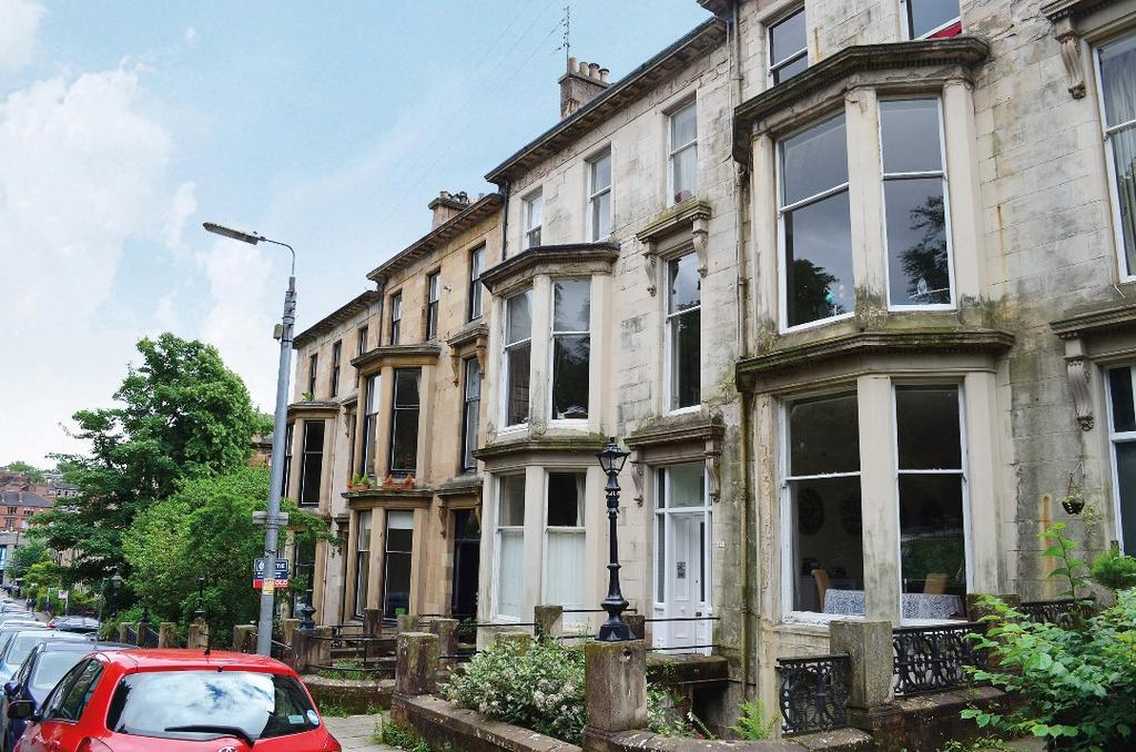 1 Bedroom Flat for sale in Huntly Gardens, Flat B/1, Dowanhill, Glasgow, G12 9AU