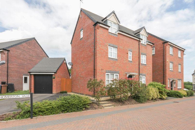 4 Bedrooms Detached House for sale in HOMERTON VALE, MICKLEOVER