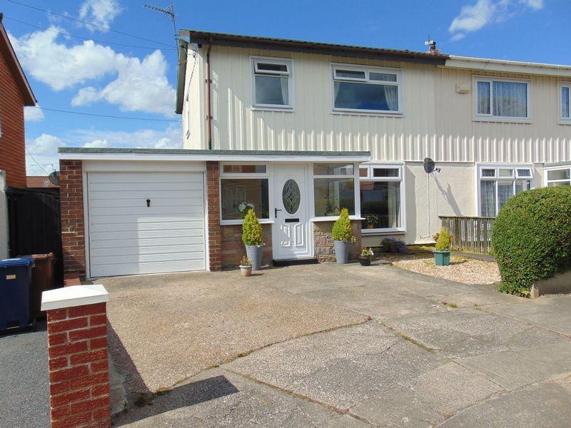 3 Bedrooms Semi Detached House for sale in Parkside Avenue, Four Lane Ends, Benton, Newcastle Upon Tyne