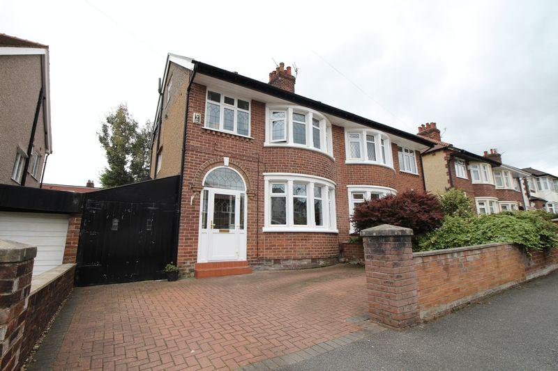 5 Bedrooms Semi Detached House for sale in Claremont Way, Higher Bebington, Wirral, CH63 5QR