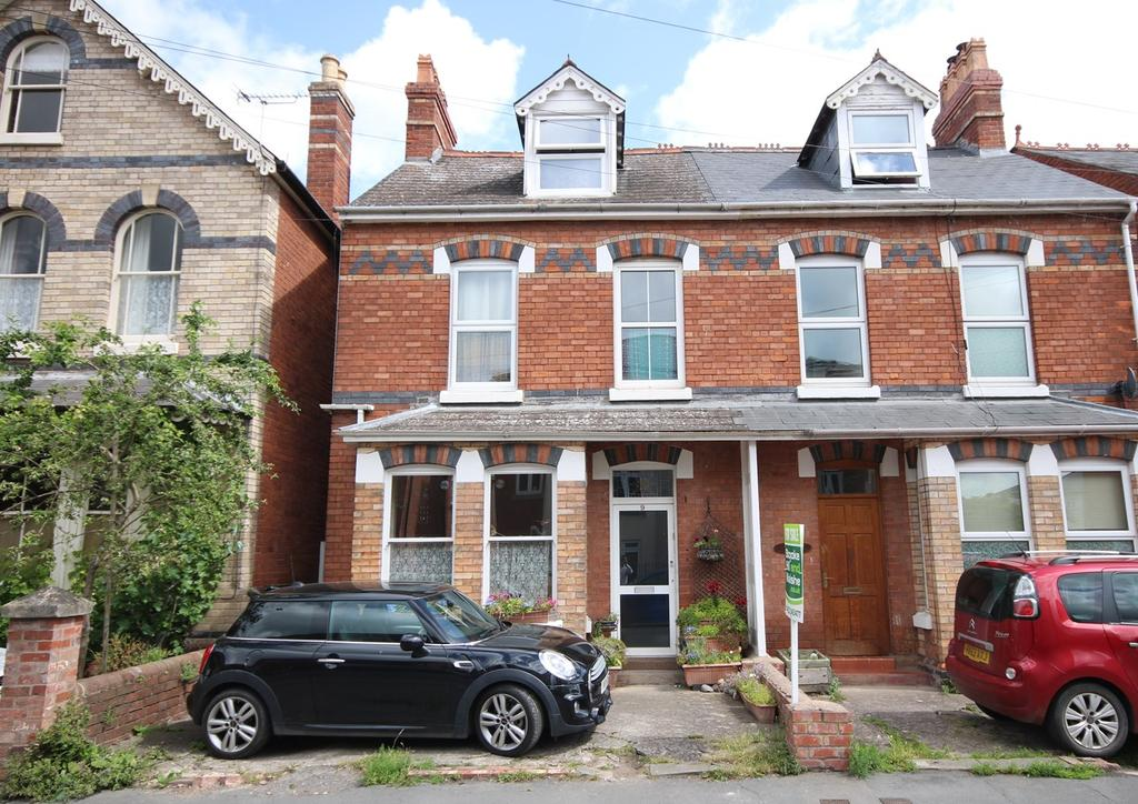 3 Bedrooms Town House for sale in Nelson Street, St James, Hereford, HR1