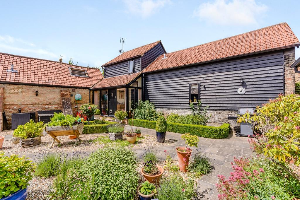 3 Bedrooms Detached House for sale in Church Farm Lane, STEEPLE MORDEN, SG8