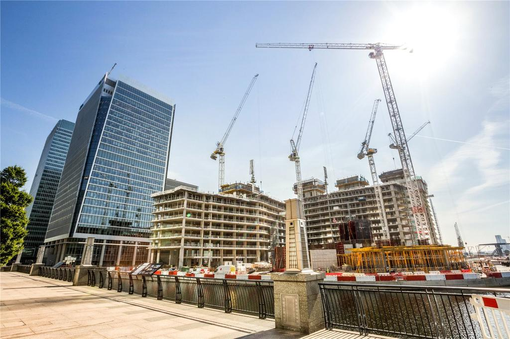 1 Bedroom Flat for sale in 10 Park Drive, Canary Wharf, London, E14