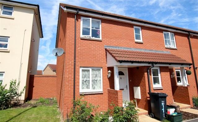 3 Bedrooms Terraced House for sale in Stockmoor Drive, Bridgwater