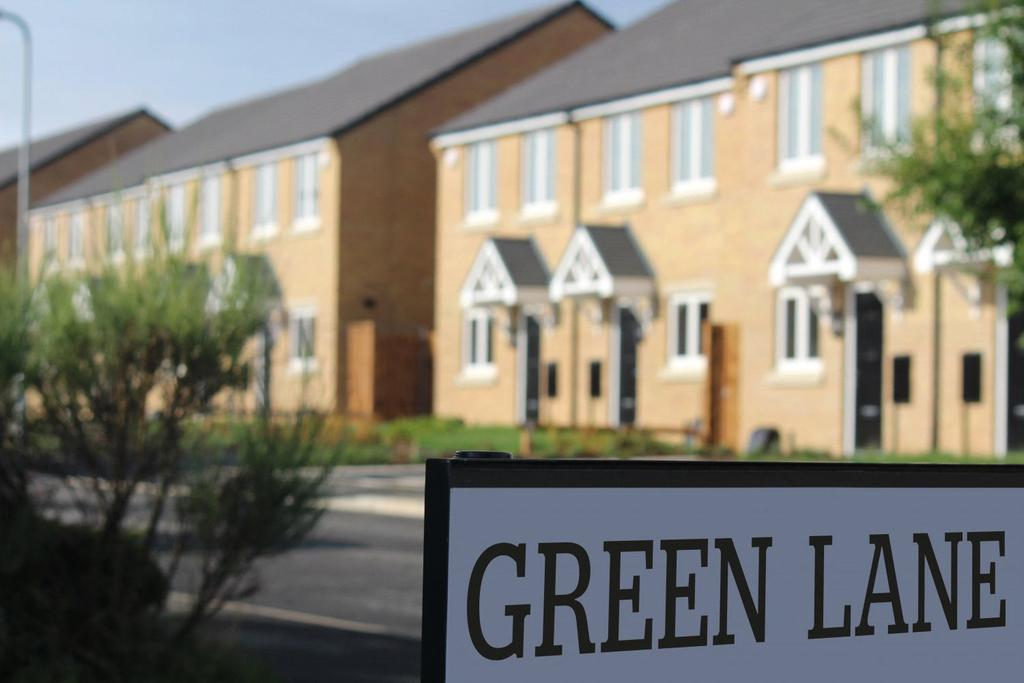 2 Bedrooms Semi Detached House for sale in Braunton Way (Plot 59), Green Lane