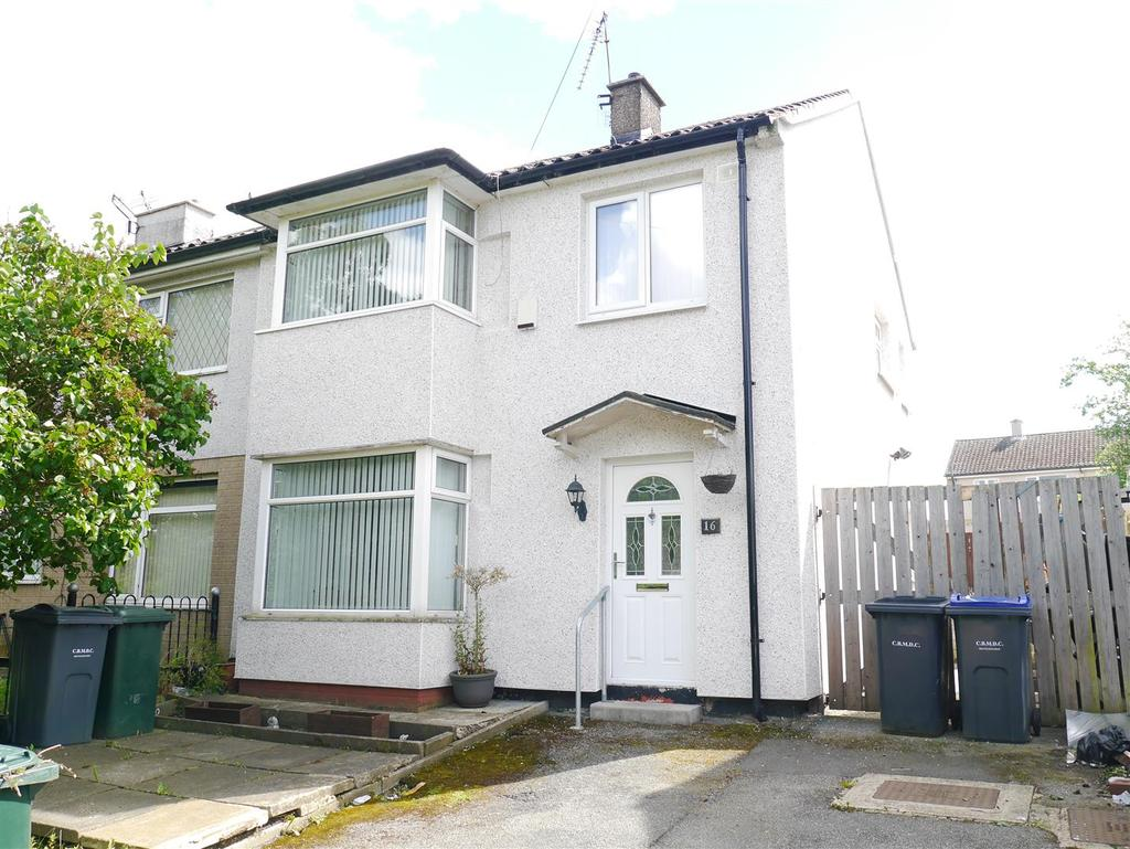 3 Bedrooms Terraced House for sale in Wansford Close, Holmewood, Bradford, BD4 0PF