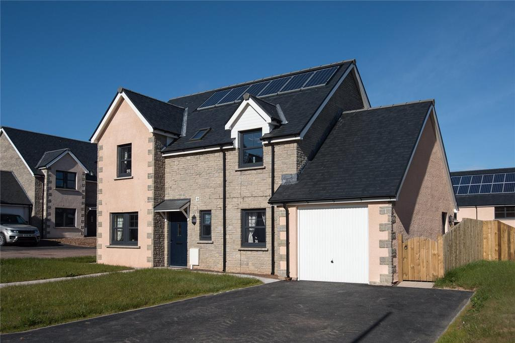 4 Bedrooms Detached House for sale in Peelwalls Meadow, Ayton, Berwickshire, Scottish Borders