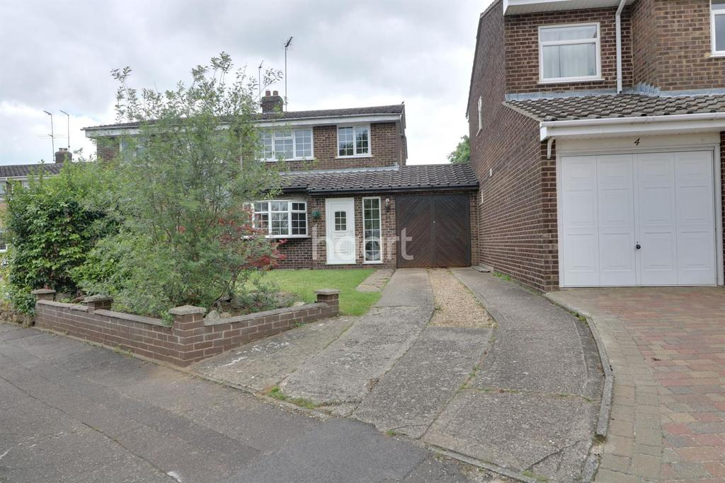 3 Bedrooms Semi Detached House for sale in Turn Furlong, Northampton