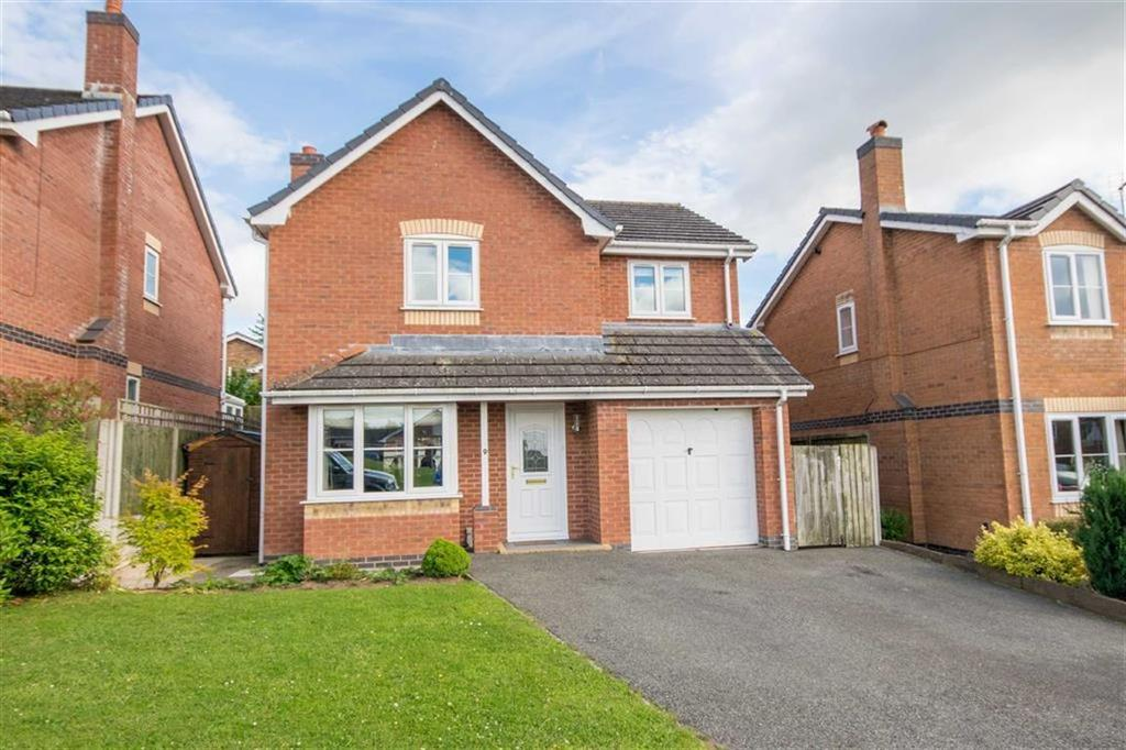 4 Bedrooms Detached House for sale in Cae Castan, Ruthin
