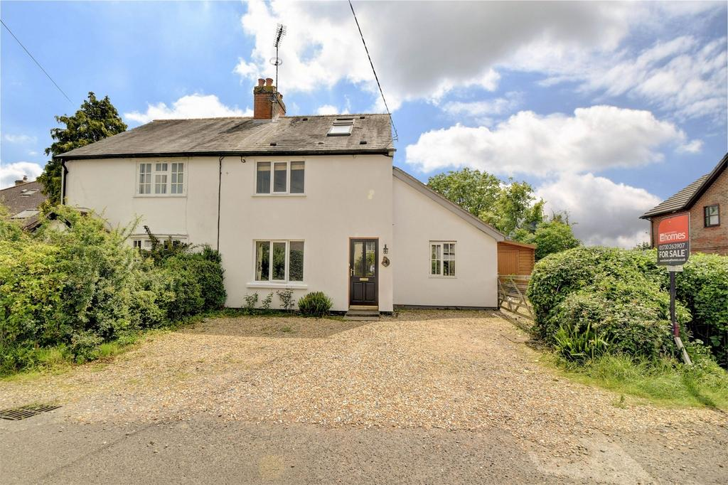 4 Bedrooms Semi Detached House for sale in North Stroud Lane, STROUD, PETERSFIELD, Hampshire