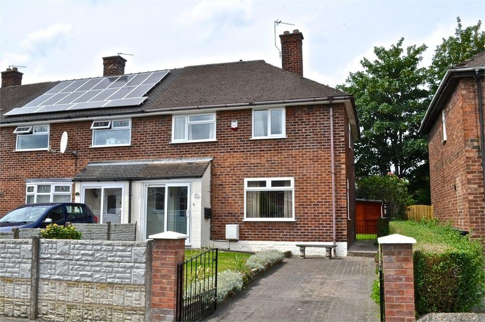 3 Bedrooms End Of Terrace House for sale in Hatton Lane, Greenbank, Northwich, Cheshire