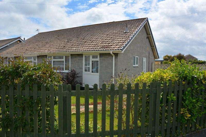 2 Bedrooms Semi Detached Bungalow for sale in Church House Road, Berrow, Burnham-On-Sea