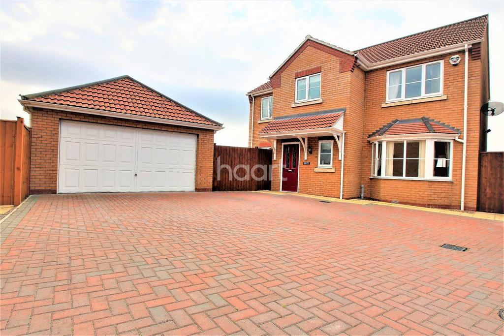 4 Bedrooms Detached House for sale in Jubilee Close, Cherry Willingham, LN3