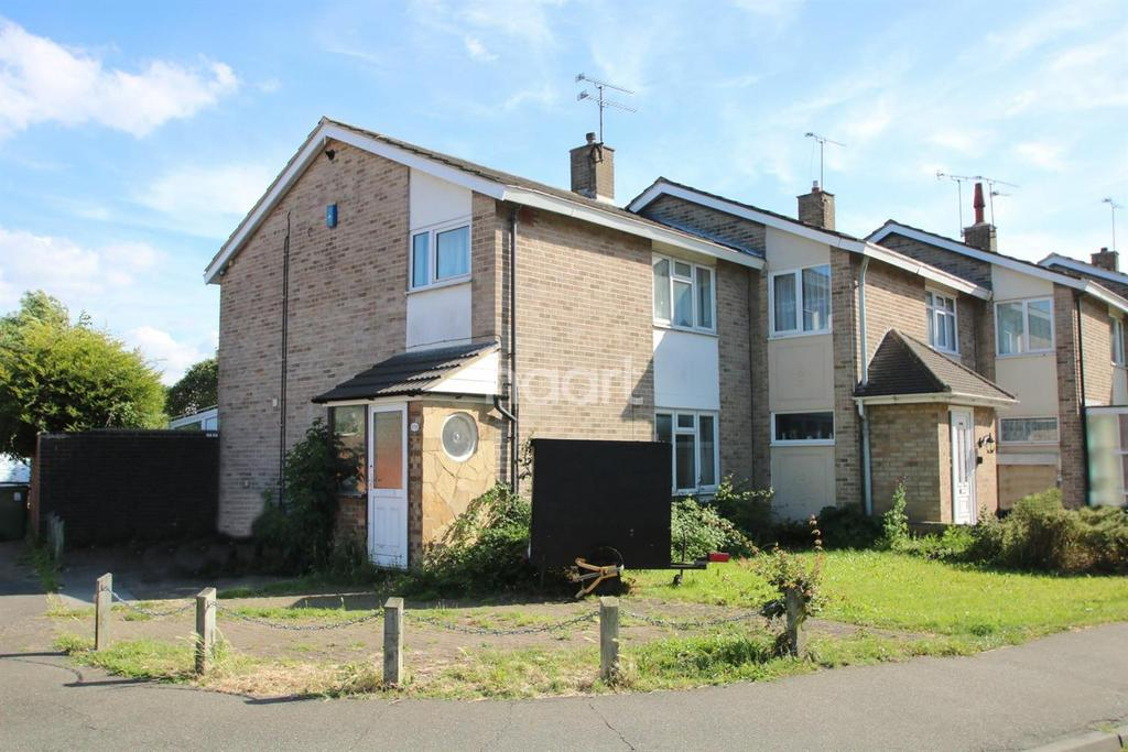 3 Bedrooms End Of Terrace House for sale in Butneys, Basildon