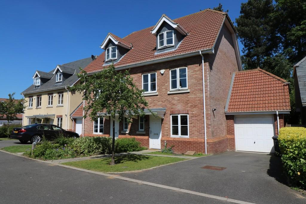 4 Bedrooms Semi Detached House for sale in Hammarsfield Close, Standon