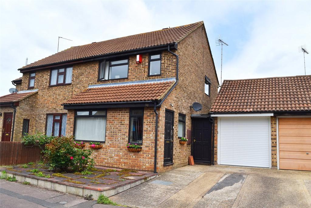 3 Bedrooms Semi Detached House for sale in Gemini Close, Leighton Buzzard