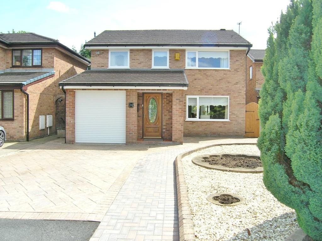 3 Bedrooms Detached House for sale in Redwood Close, Woolston, Warrington
