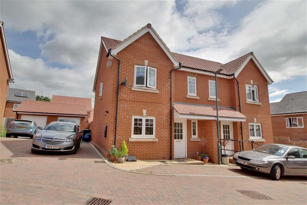 3 Bedrooms Semi Detached House for sale in Drovers Way, Newent, Gloucestershire