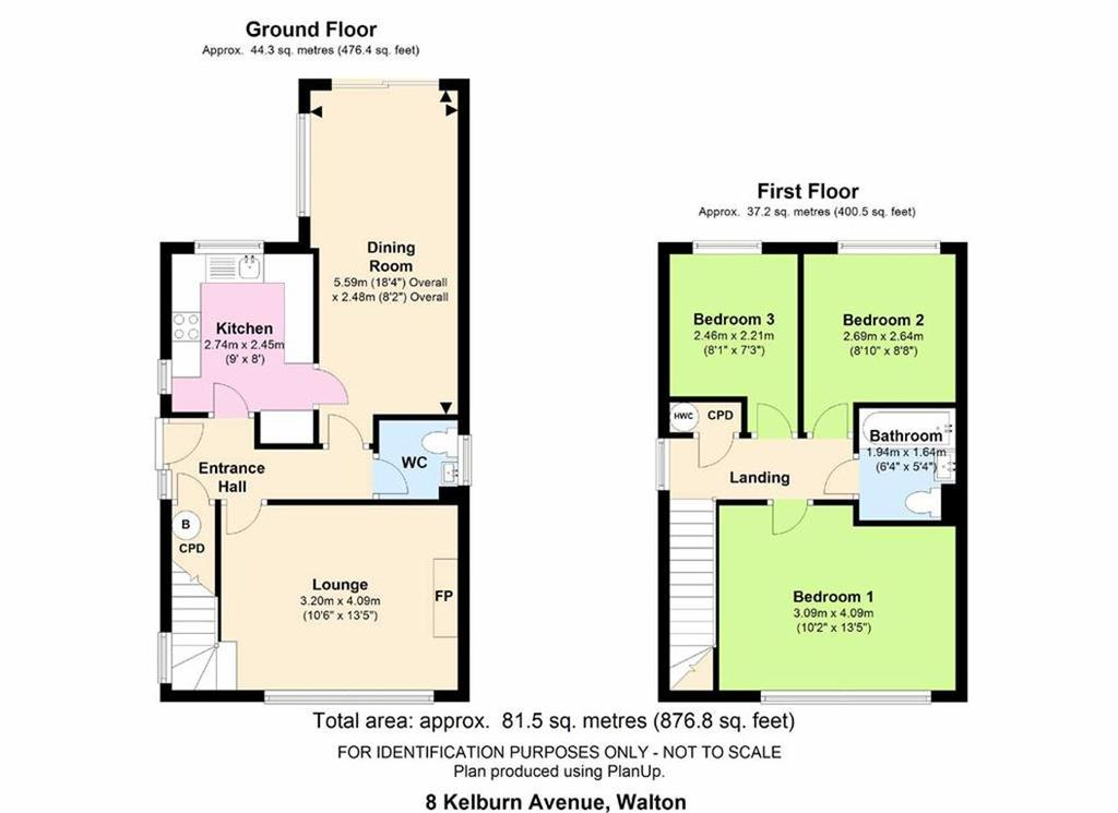 3 Bedrooms Detached House for sale in Kelburn Avenue, Walton, Chesterfield, S40