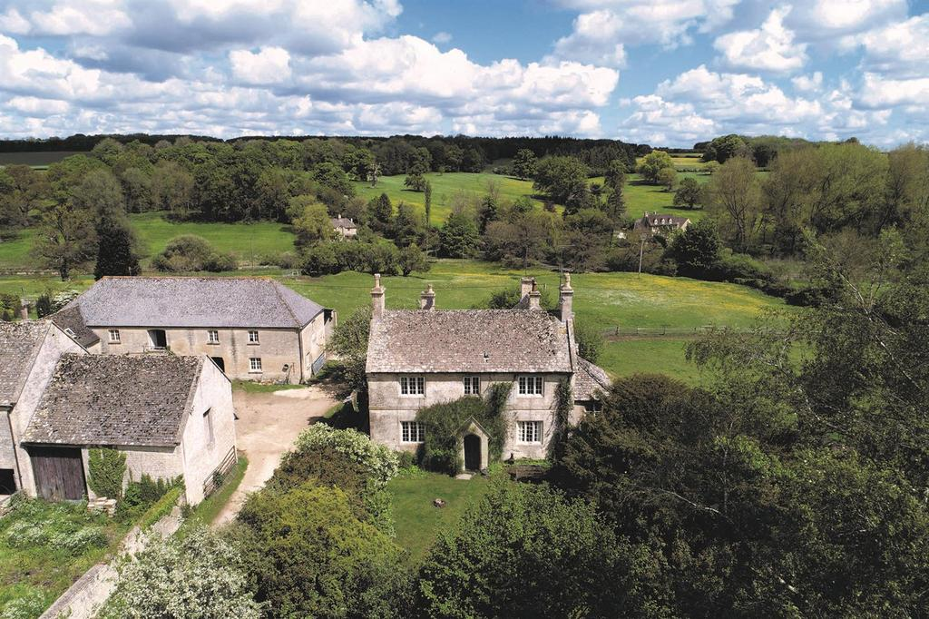 6 Bedrooms Country House Character Property for sale in Sherborne, Gloucestershire