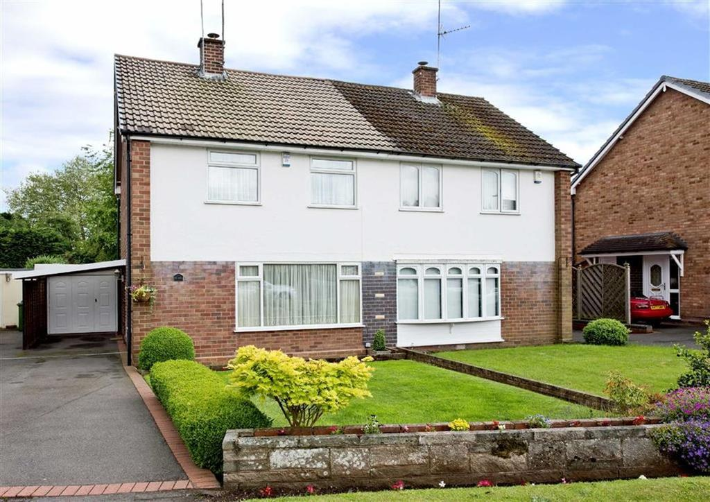 3 Bedrooms Semi Detached House for sale in 9, Strathmore Crescent, Wombourne, Wolverhampton, South Staffordshire, WV5