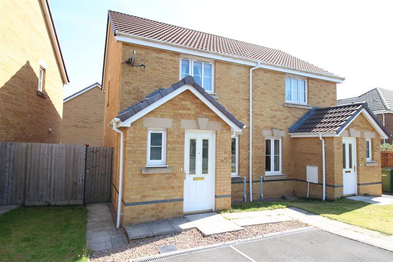 2 Bedrooms Semi Detached House for sale in Ffordd Y Maes, Caerphilly