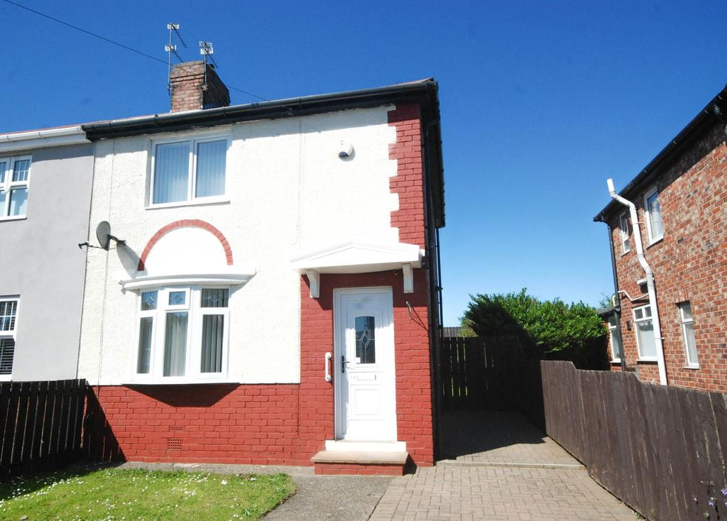 2 Bedrooms Semi Detached House for sale in Ogle Grove, Jarrow
