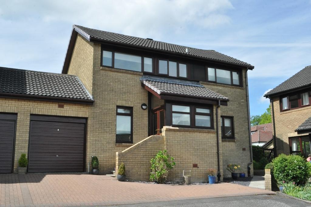3 Bedrooms Link Detached House for sale in Russell Drive , Bearsden , East Dunbartonshire , G61 3BB