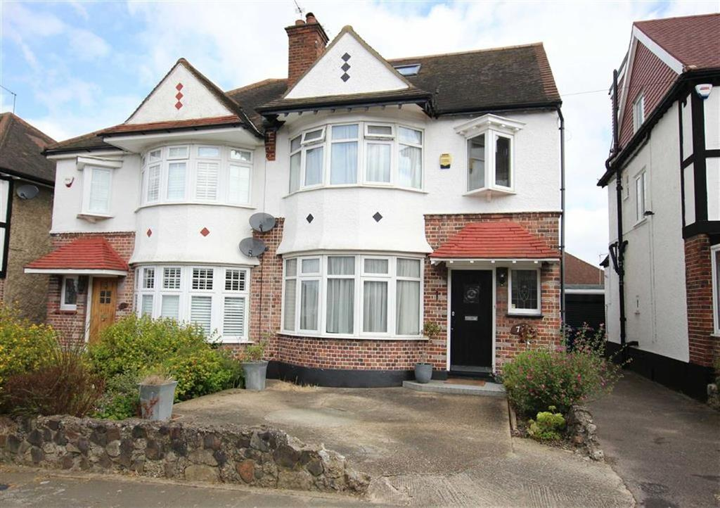 4 Bedrooms Semi Detached House for sale in Walfield Avenue, Whetstone, London