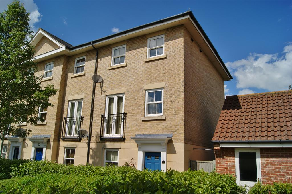 3 Bedrooms End Of Terrace House for sale in Bulrush Crescent, Bury St Edmunds IP33