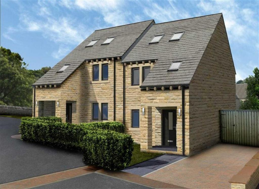 4 Bedrooms Semi Detached House for sale in Moorland View, Meltham, Holmfirth, HD9