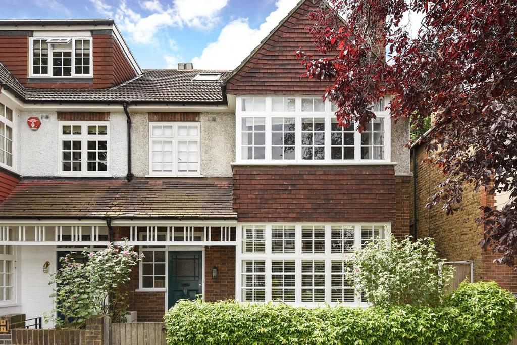 5 Bedrooms Semi Detached House for sale in Elmwood Road, Chiswick, W4