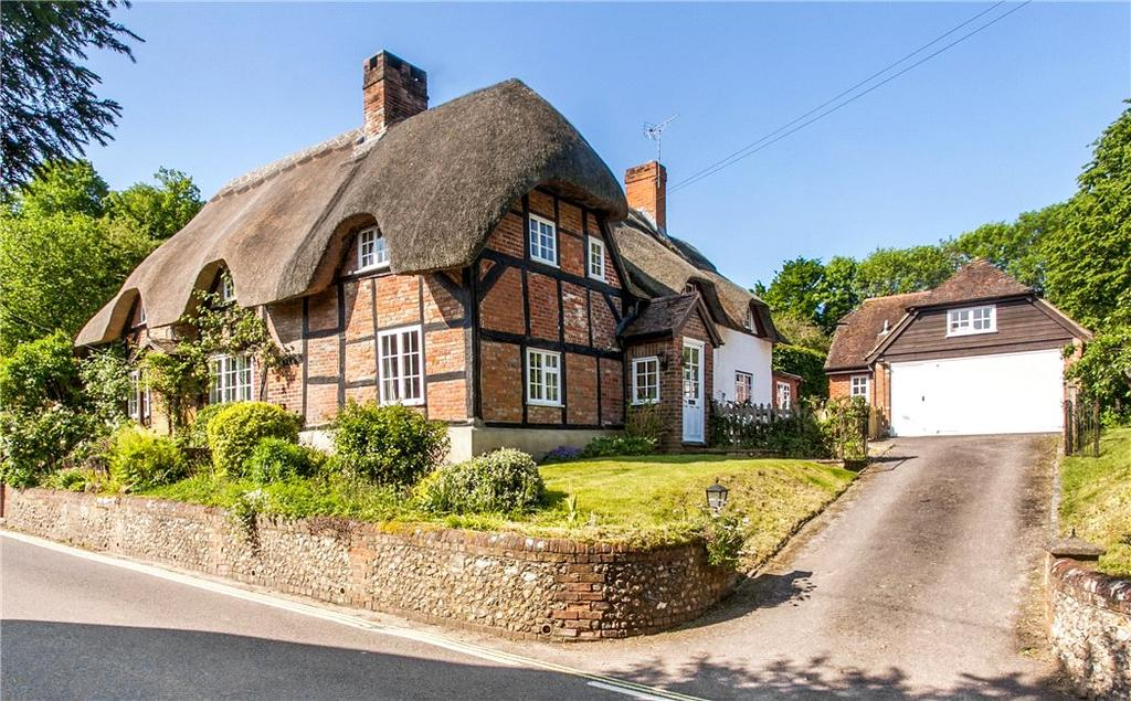 4 Bedrooms Semi Detached House for sale in Church Street, Micheldever, Winchester, Hampshire, SO21