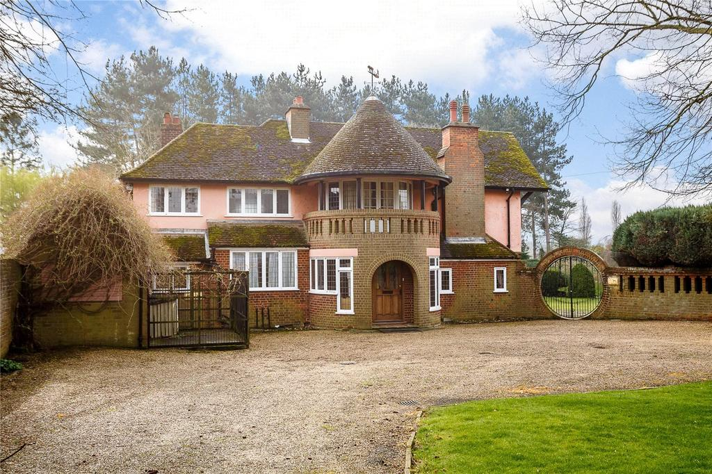 5 Bedrooms Detached House for sale in Westmill Lane, Ickleford, Hitchin, Hertfordshire