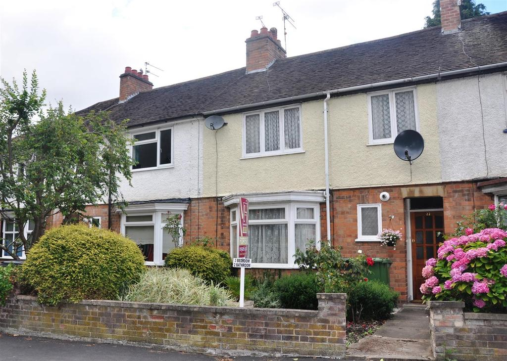 3 Bedrooms Terraced House for sale in Woodcote Road, Warwick