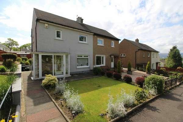 2 Bedrooms Semi-detached Villa House for sale in 26 Langhouse Road, Inverkip, PA16 0BL