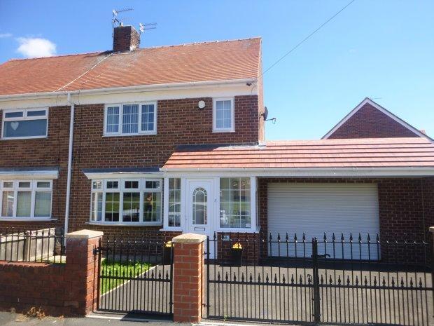 2 Bedrooms Semi Detached House for sale in LANGHURST, RYHOPE, SUNDERLAND SOUTH