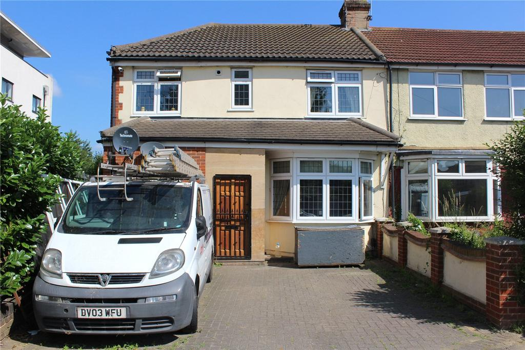4 Bedrooms End Of Terrace House for sale in Recreation Avenue, Romford, RM7