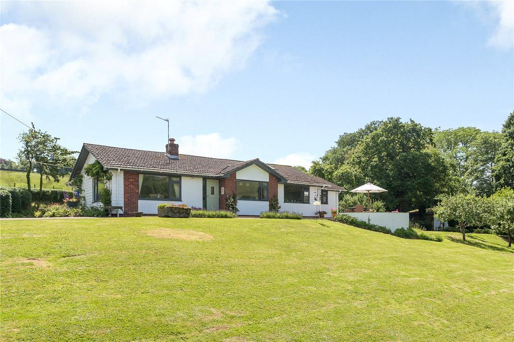 4 Bedrooms Detached Bungalow for sale in Halsfordwood Lane, Nadderwater, Exeter, Devon, EX4