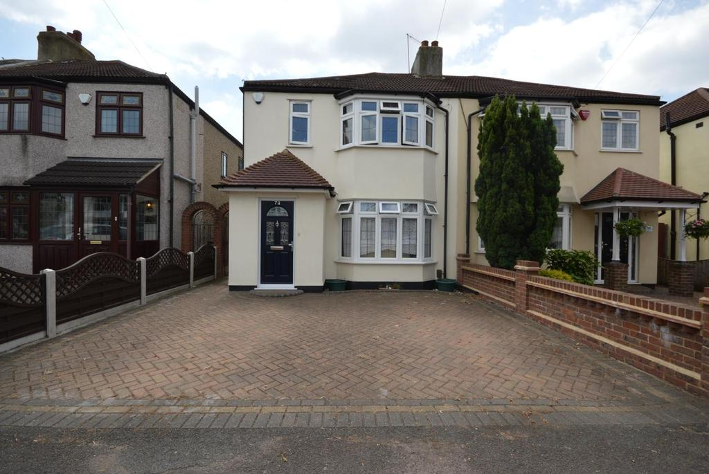 3 Bedrooms Semi Detached House for sale in Suttons Avenue, Hornchurch, Essex, RM12
