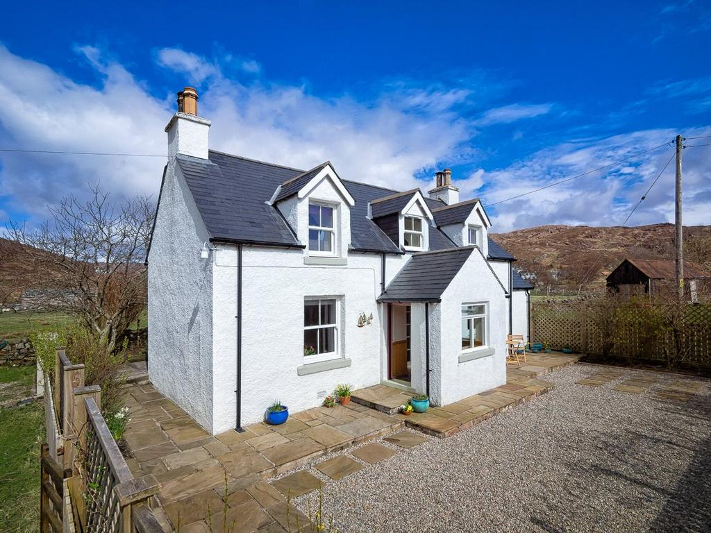 3 Bedrooms Detached House for sale in Seaview, Toscaig, Applecross, Strathcarron, IV54