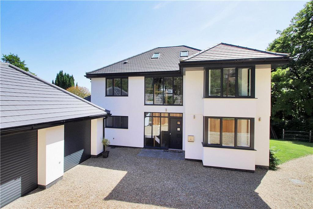 5 Bedrooms Detached House for sale in Chalkway, Pilgrims Way, Kemsing, Kent, TN15