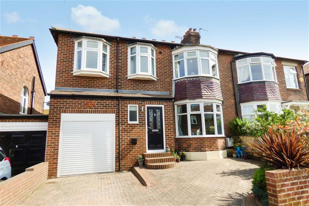 4 Bedrooms Semi Detached House for sale in Parkside Crescent, Tynemouth