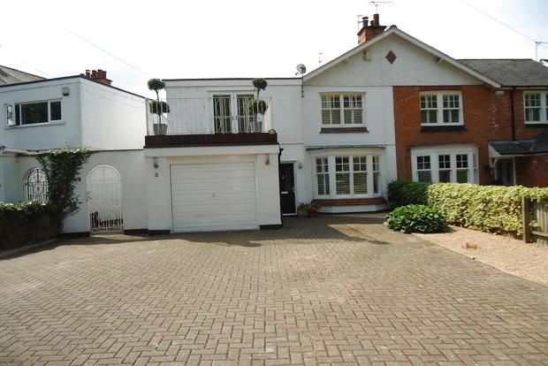 3 Bedrooms Semi Detached House for sale in Kirby Lane, Kirby Muxloe, Leicester, LE9