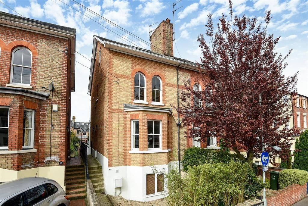 4 Bedrooms Semi Detached House for sale in Rectory Road, East Oxford