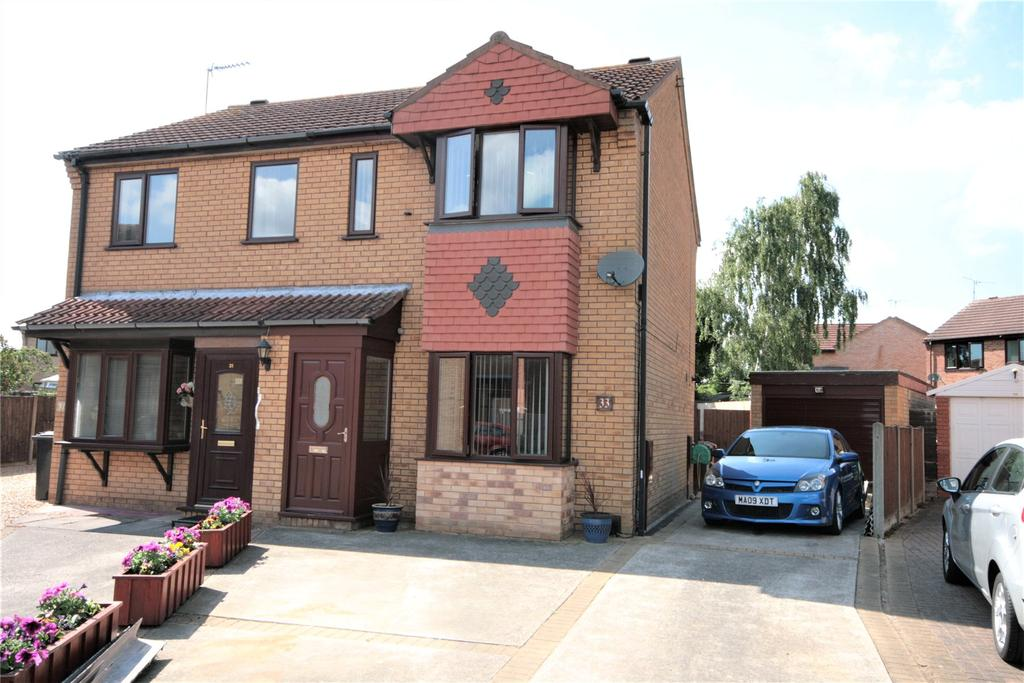 2 Bedrooms Semi Detached House for sale in Winthorpe Road, Lincoln, LN6